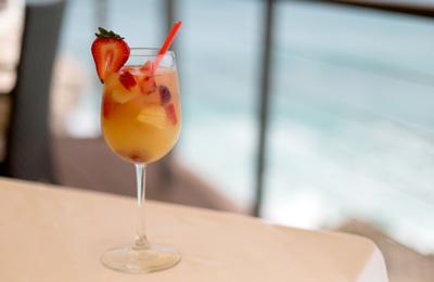 Cocktails at Champers Restaurant